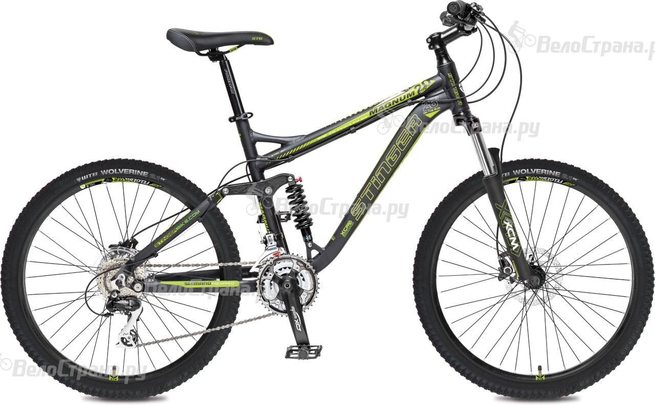 Велосипед Stinger Magnum 2.0 26 (2016) велосипед stinger apollo 26 2016