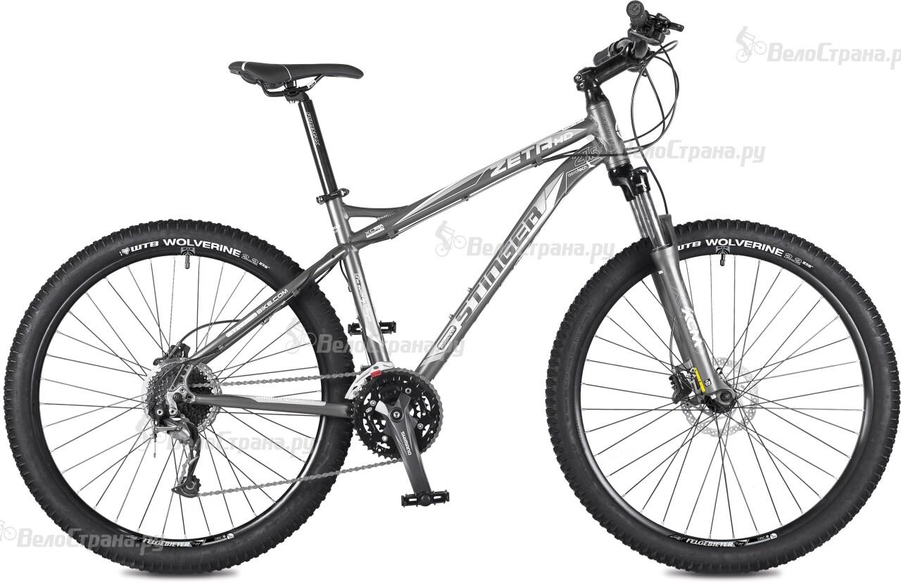 Велосипед Stinger Zeta HD 27,5 (2016) велосипед stinger zeta d 2015
