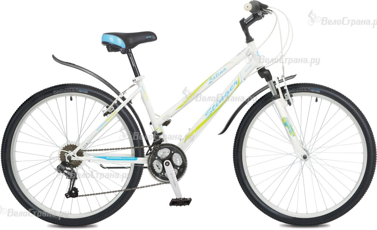 Велосипед Stinger Latina 26 (2016) велосипед stinger cruizer 26 2016