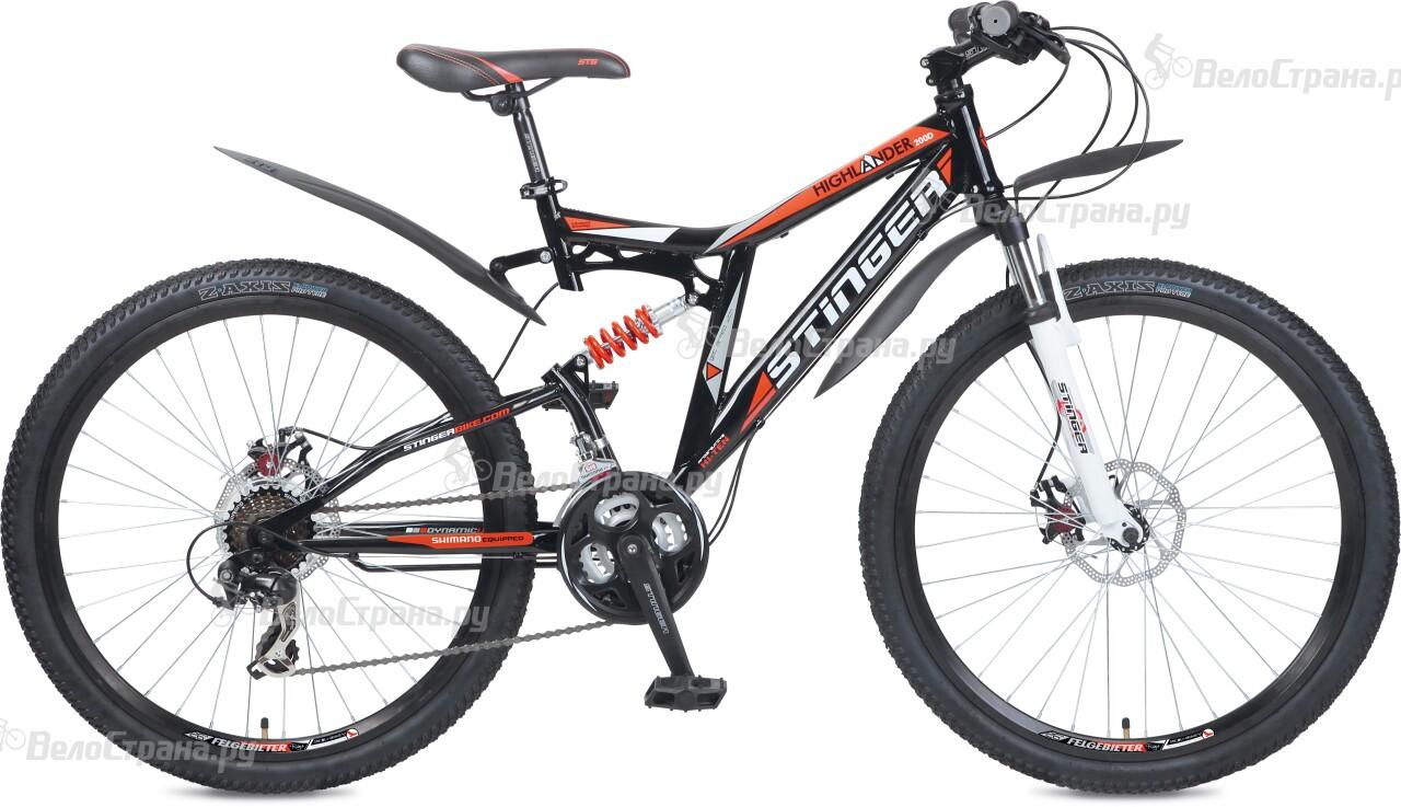 Велосипед Stinger Highlander 200D 26 (2016) велосипед stinger cruizer 26 2016