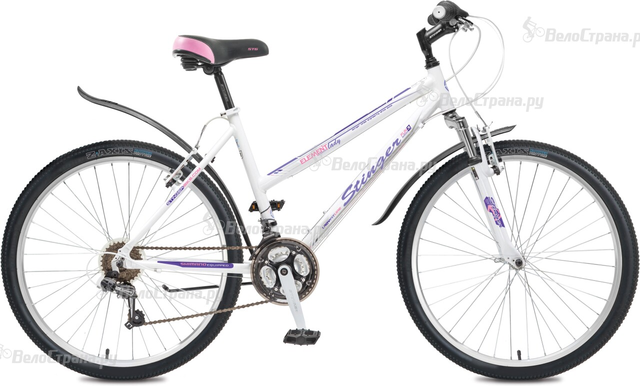 Велосипед Stinger Element Lady V 26 (2016) велосипед stinger element lady d 26 2016
