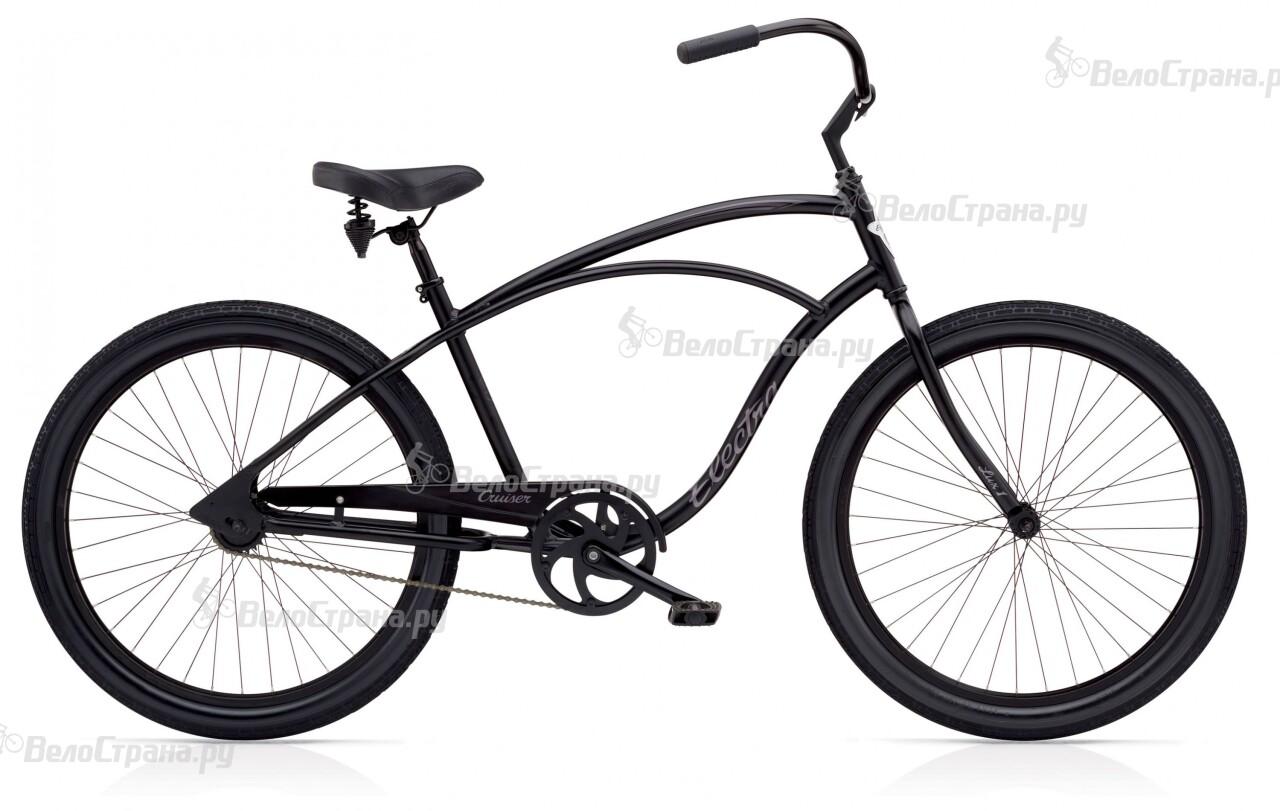 Велосипед Electra Cruiser Lux Mens (2016) велосипед challenger mission lux fs 26 черно красный 16