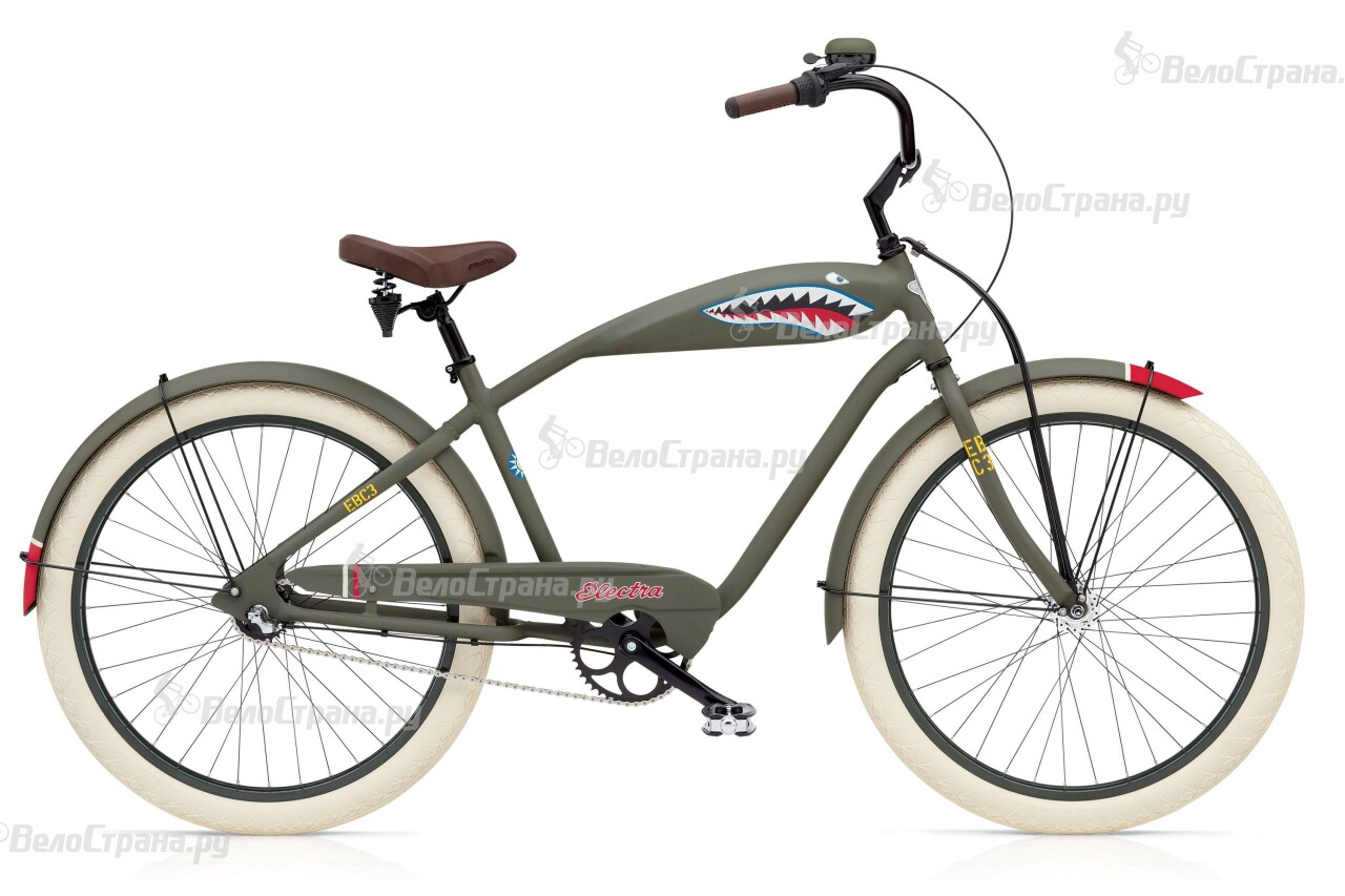 Велосипед Electra Cruiser Tiger Shark 3i Mens (2016)