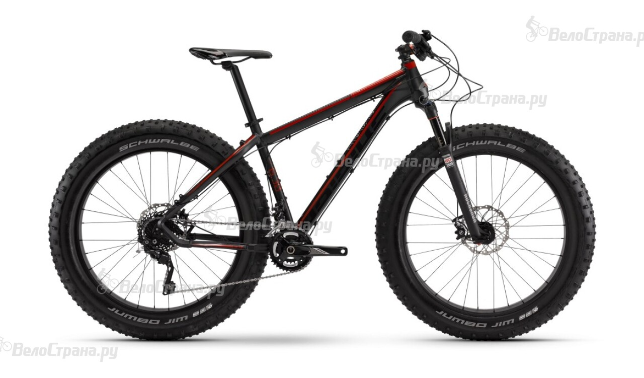 Велосипед Haibike Fatcurve 6.30 (2016)
