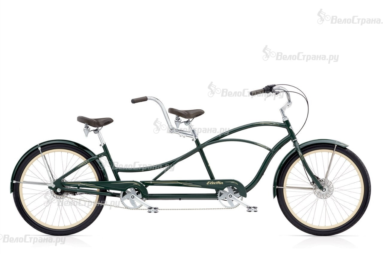 Велосипед Electra Swing Tandem 7i Forest Green (2016)