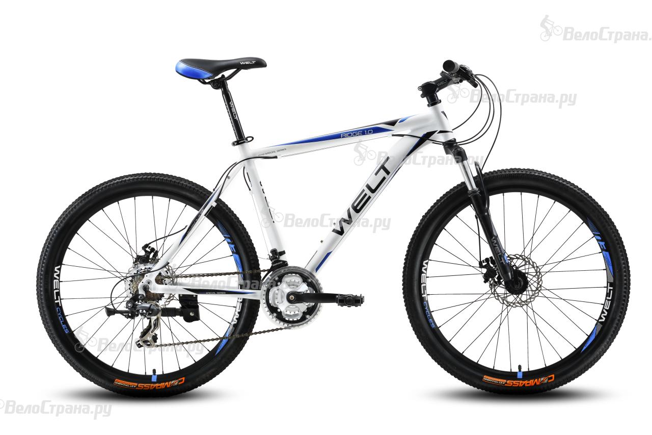 Велосипед Welt Ridge 1.0 D (2016) велосипед welt ridge 1 0 d 2018