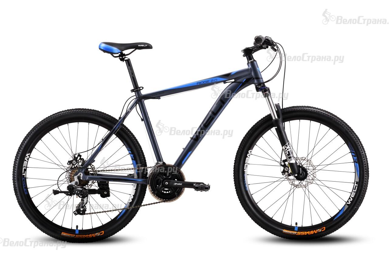 Велосипед Welt Ridge 2.0 D (2016) велосипед welt ridge 1 0 d 2018