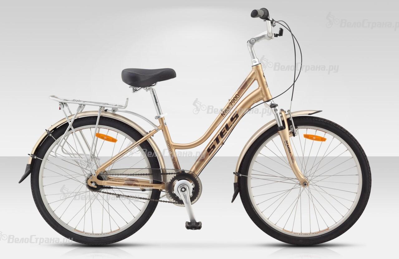 Велосипед Stels Miss 7900 V (2016) велосипед stels miss 6000 v 15 2016 grey pink silver