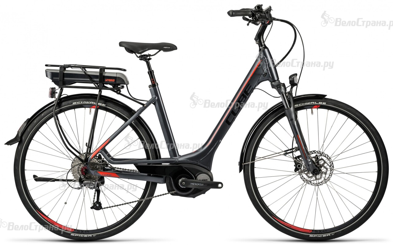 Велосипед Cube Touring Hybrid 400 Easy Entry (2016) велосипед cube touring easy entry 2017