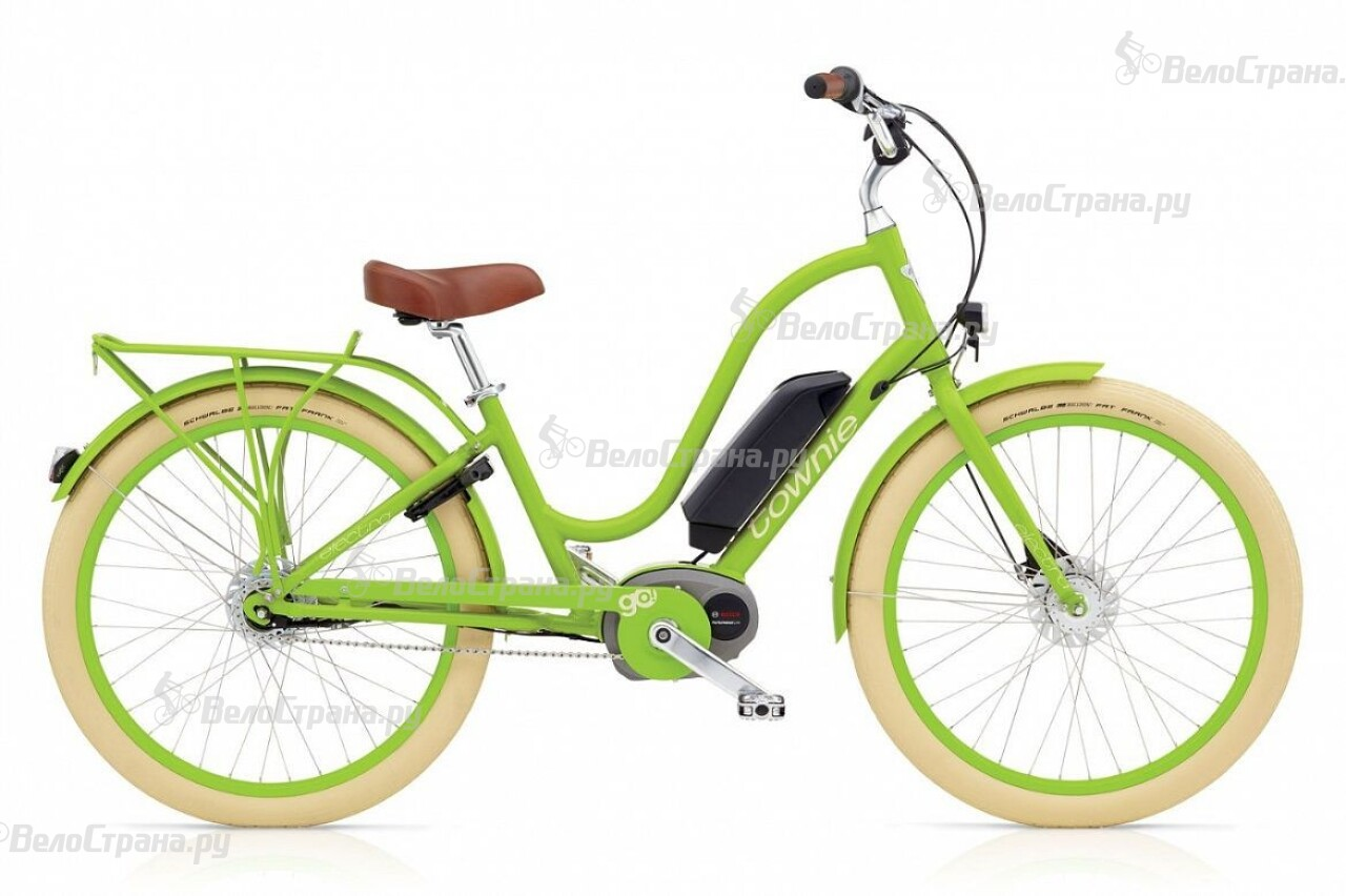 Велосипед Electra Townie GO! 8i Bosch ladies (2016) рюкзак wenger black grey 6677204410