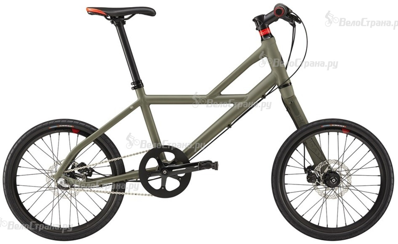 Велосипед Cannondale Hooligan 1 (2016) велосипед black one hooligan fs 26 d 2017 серо зеленый 16