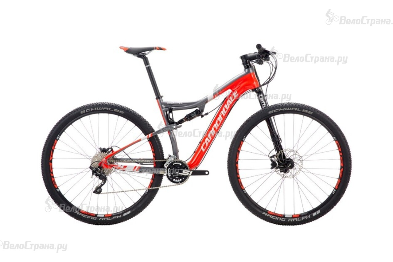 Велосипед Cannondale Scalpel 29 Carbon 3 (2016)