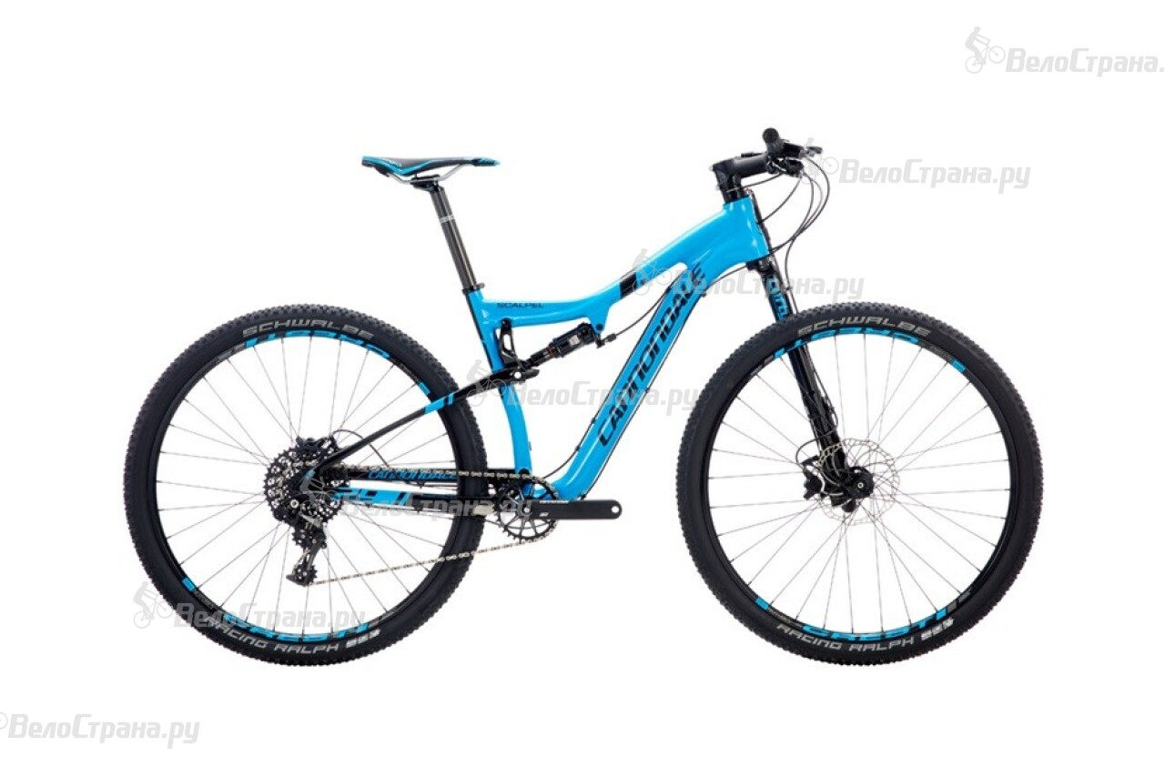 Велосипед Cannondale Scalpel 29 Carbon 2 (2016)