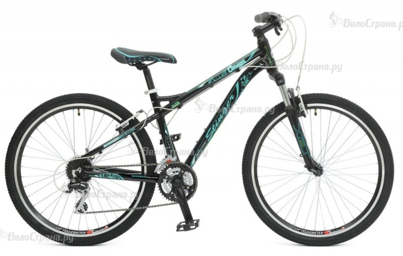 Велосипед Stinger Omega 26 Lady (2015) велосипед stinger omega x50793 k black green