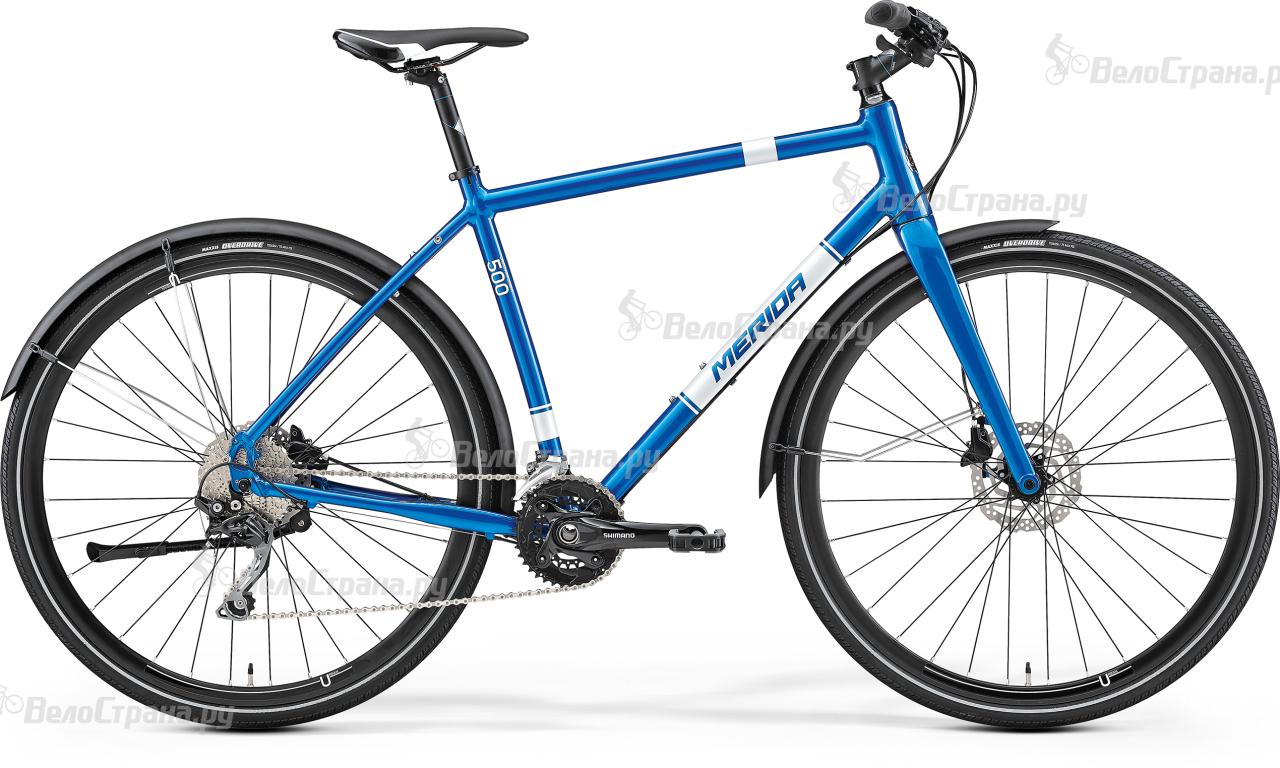 Велосипед Merida Crossway urban 500 (2017) велосипед merida crossway urban 20 md lady 2017