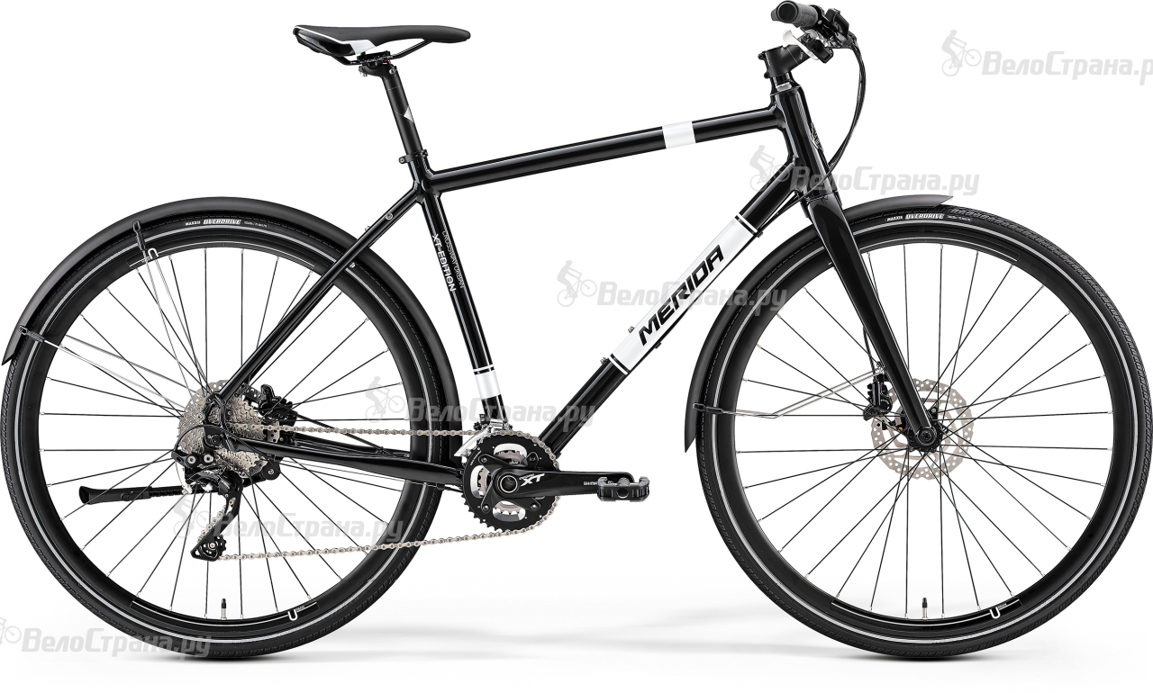 Велосипед Merida Crossway urban XT-edition (2017)