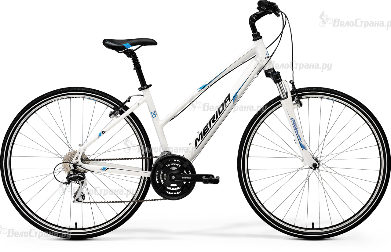 где купить Велосипед Merida Crossway 20-V-lady (2017) по лучшей цене