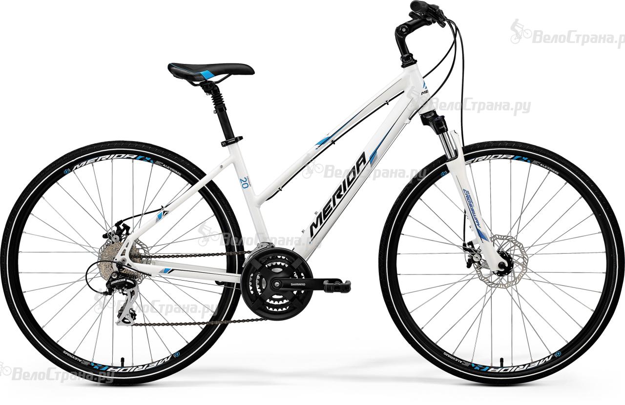 Велосипед Merida Crossway 20-MD-lady (2017)