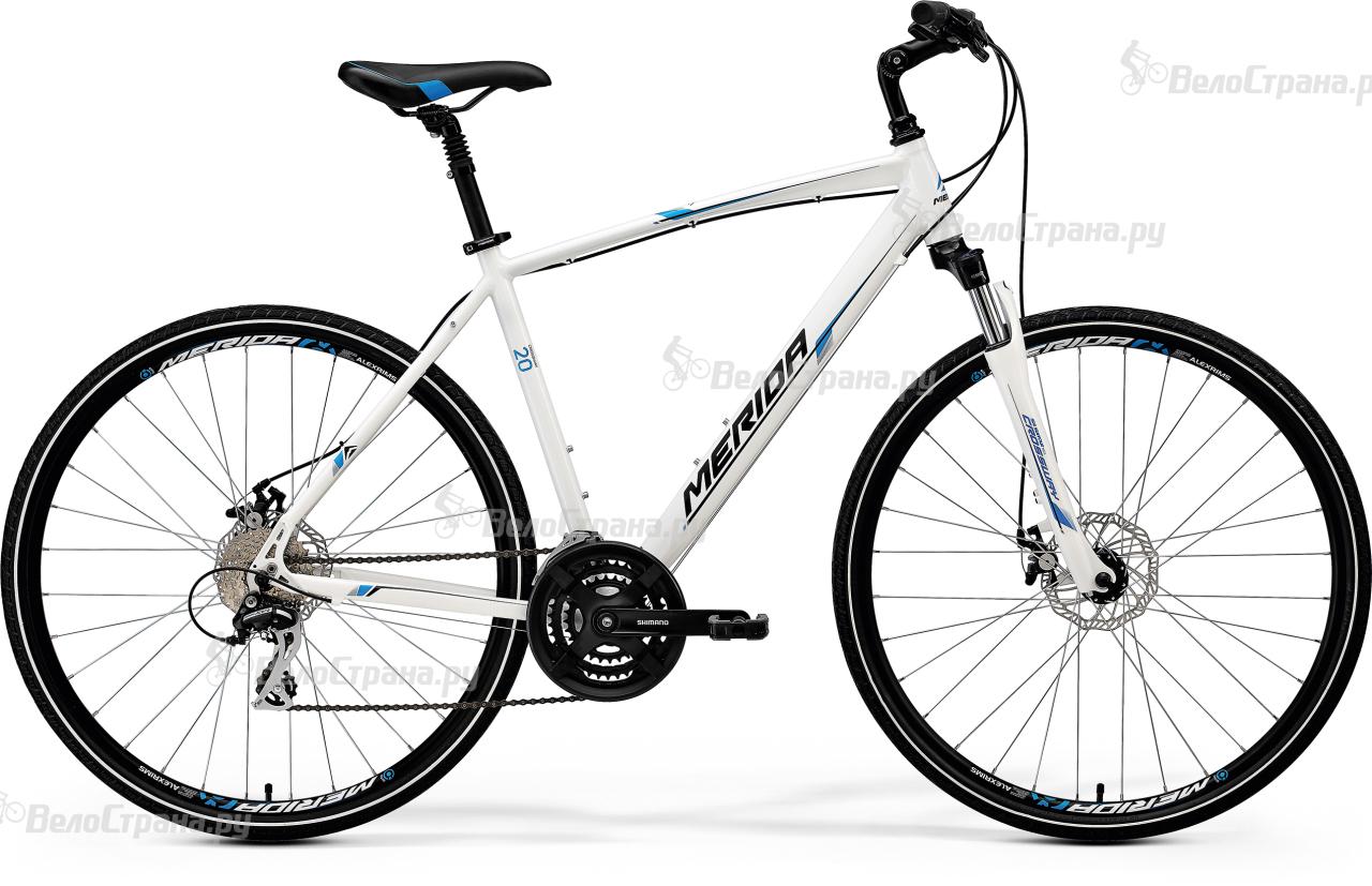 Велосипед Merida Crossway 20-MD (2017) велосипед merida crossway urban 20 md lady 2017