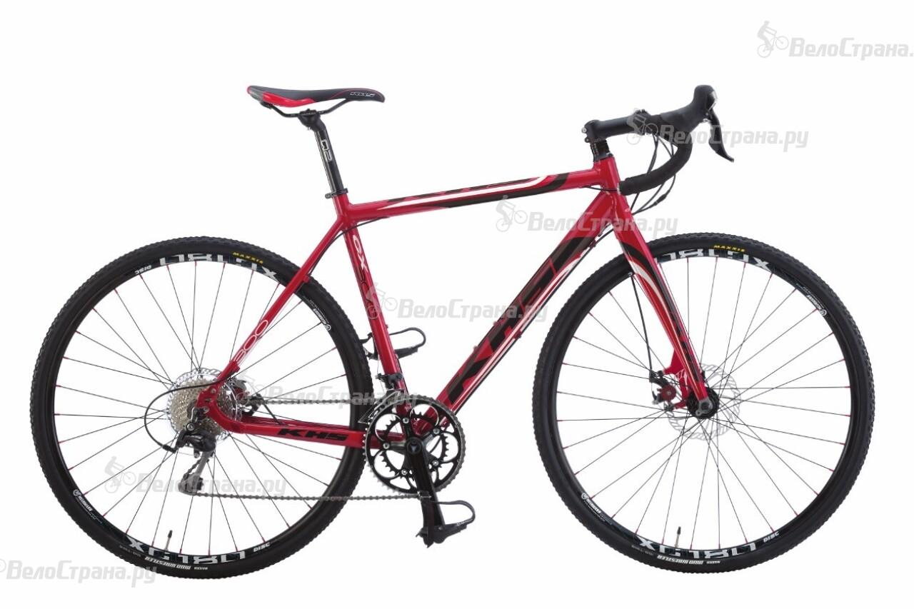 Велосипед KHS CX300 (2016) велосипед khs alite 150 2016