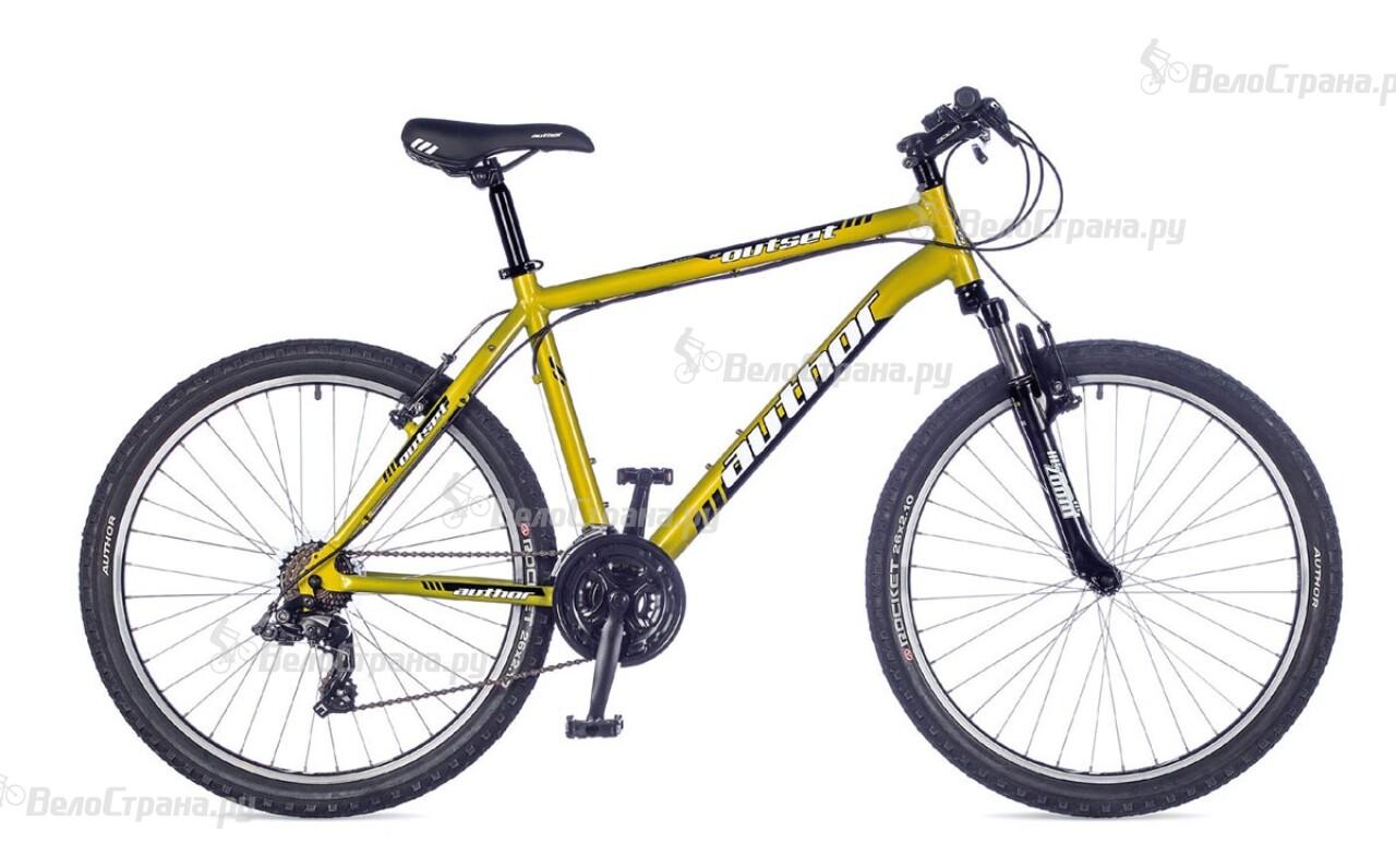 Велосипед Author Outset (2016) велосипед author outset disc 2015