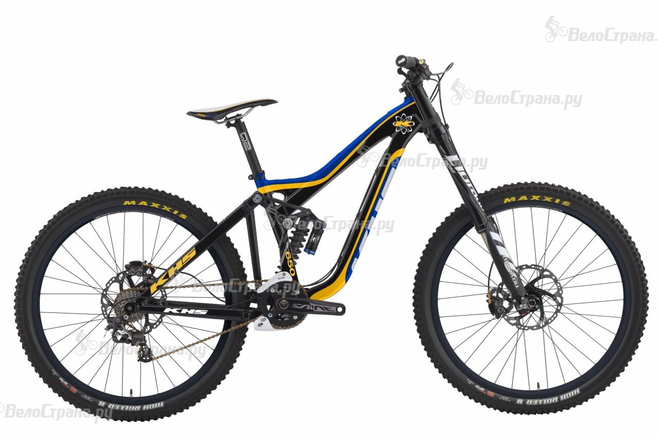 Велосипед KHS DH650B Team (2016) велосипед gt sanction team 2016