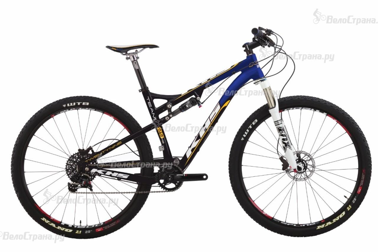 Велосипед KHS Team 29 FS (2016) велосипед gt sanction team 2016
