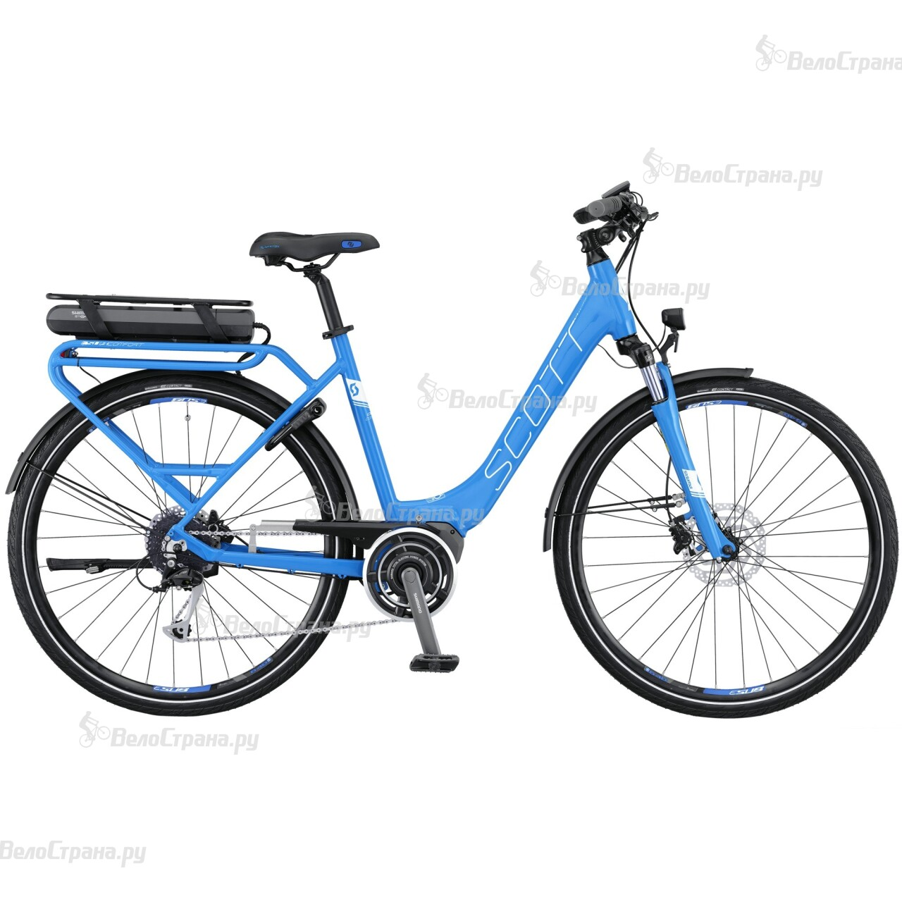 Велосипед Scott E-Sub Comfort Unisex (2016)