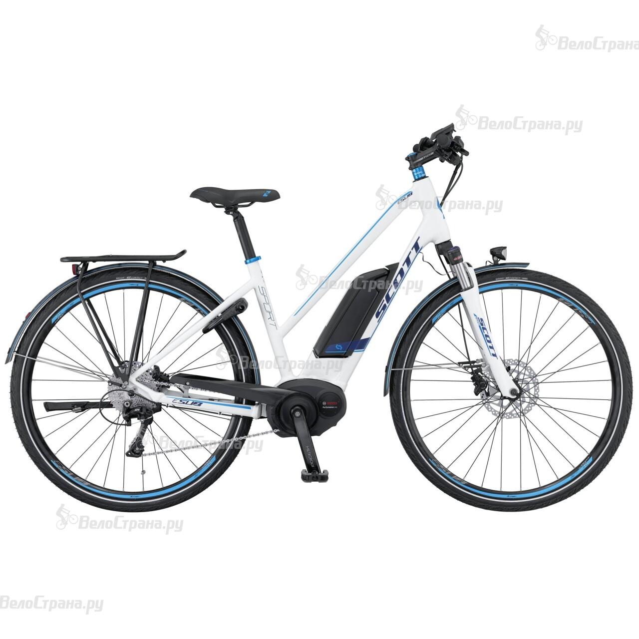 Велосипед Scott E-Sub Sport Lady (2016)