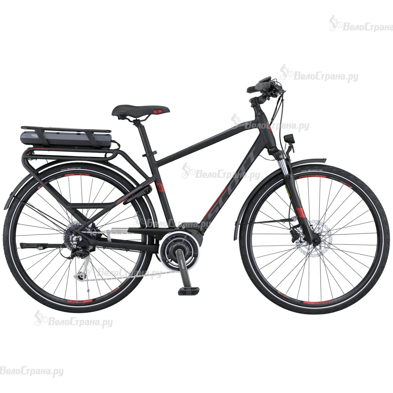 Велосипед Scott E-Sub Comfort Men (2016)