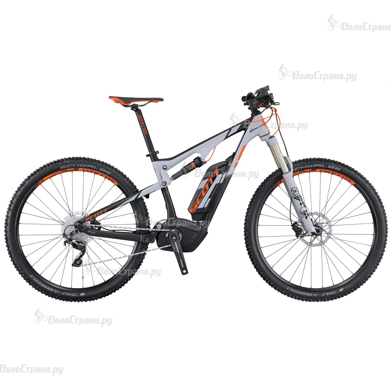 Велосипед Scott E-Genius 920 (2016)