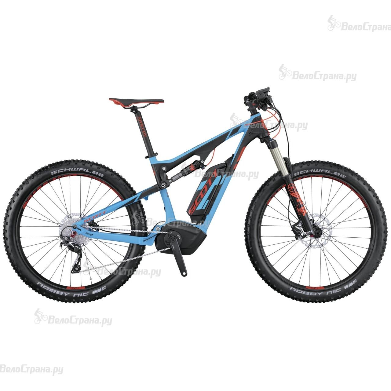 Велосипед Scott E-Genius 720 Plus (2016) велосипед scott genius lt 720 2015