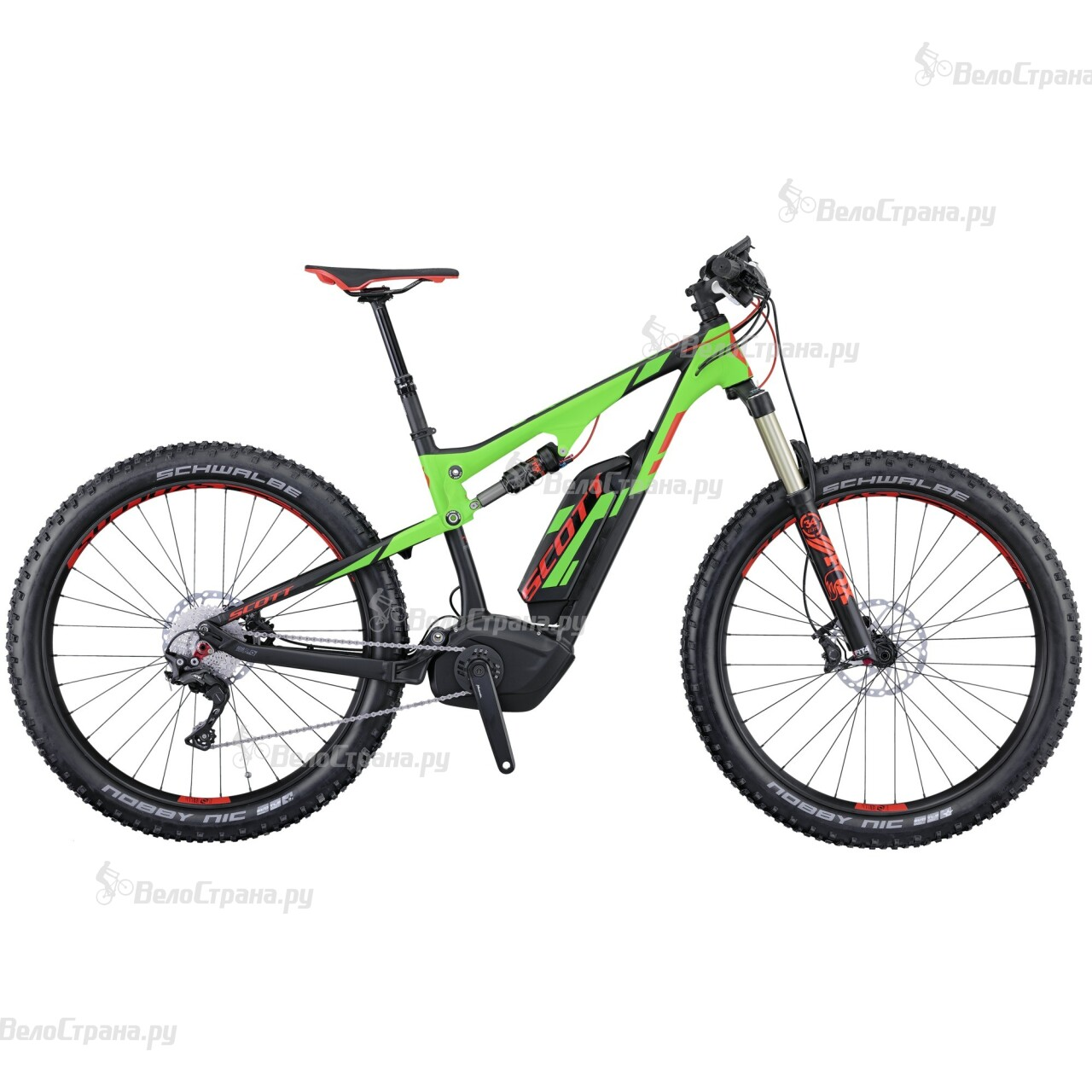 купить Велосипед Scott E-Genius 710 Plus (2016) недорого