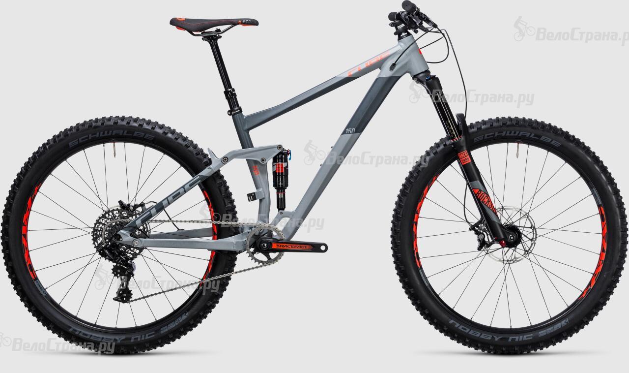 Велосипед Cube Stereo 150 HPA Race 27.5+ (2017) велосипед cube stereo 160 hpa race 27 5 2016