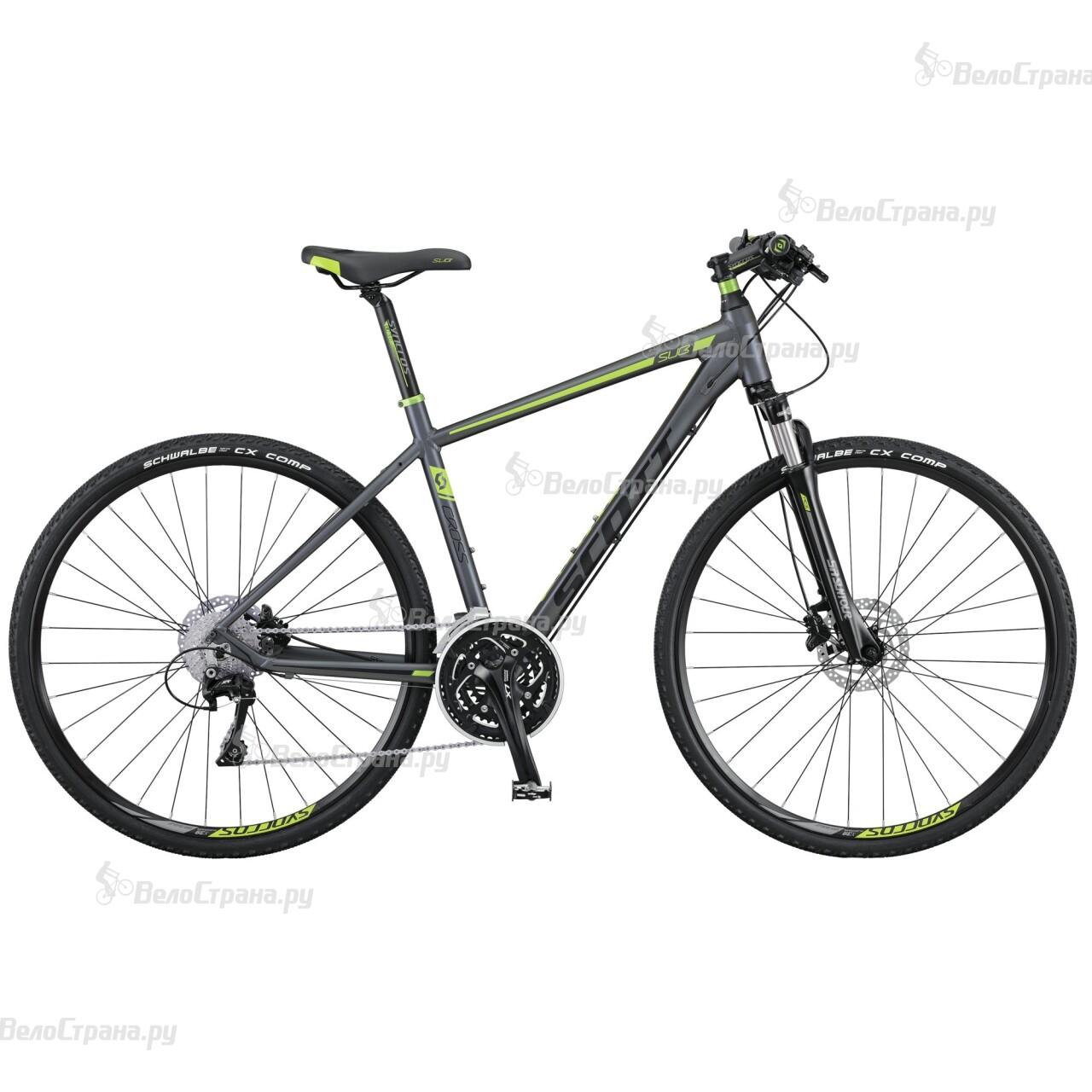 Велосипед Scott Sub Cross 20 (2016) велосипед scott sub cross 30 men 2017