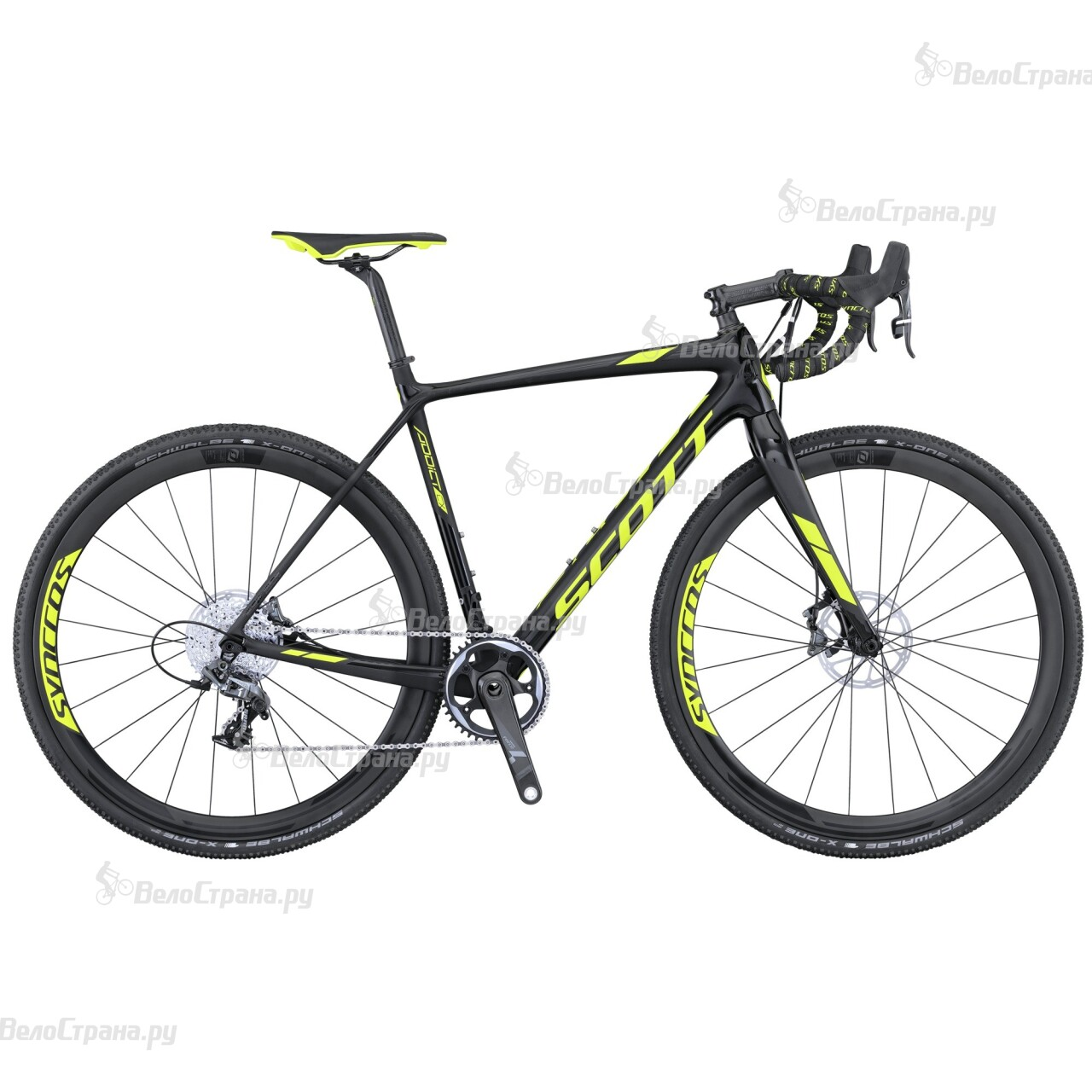 Велосипед Scott Addict CX 10 Disc (2016) scott addict sl compact 2015