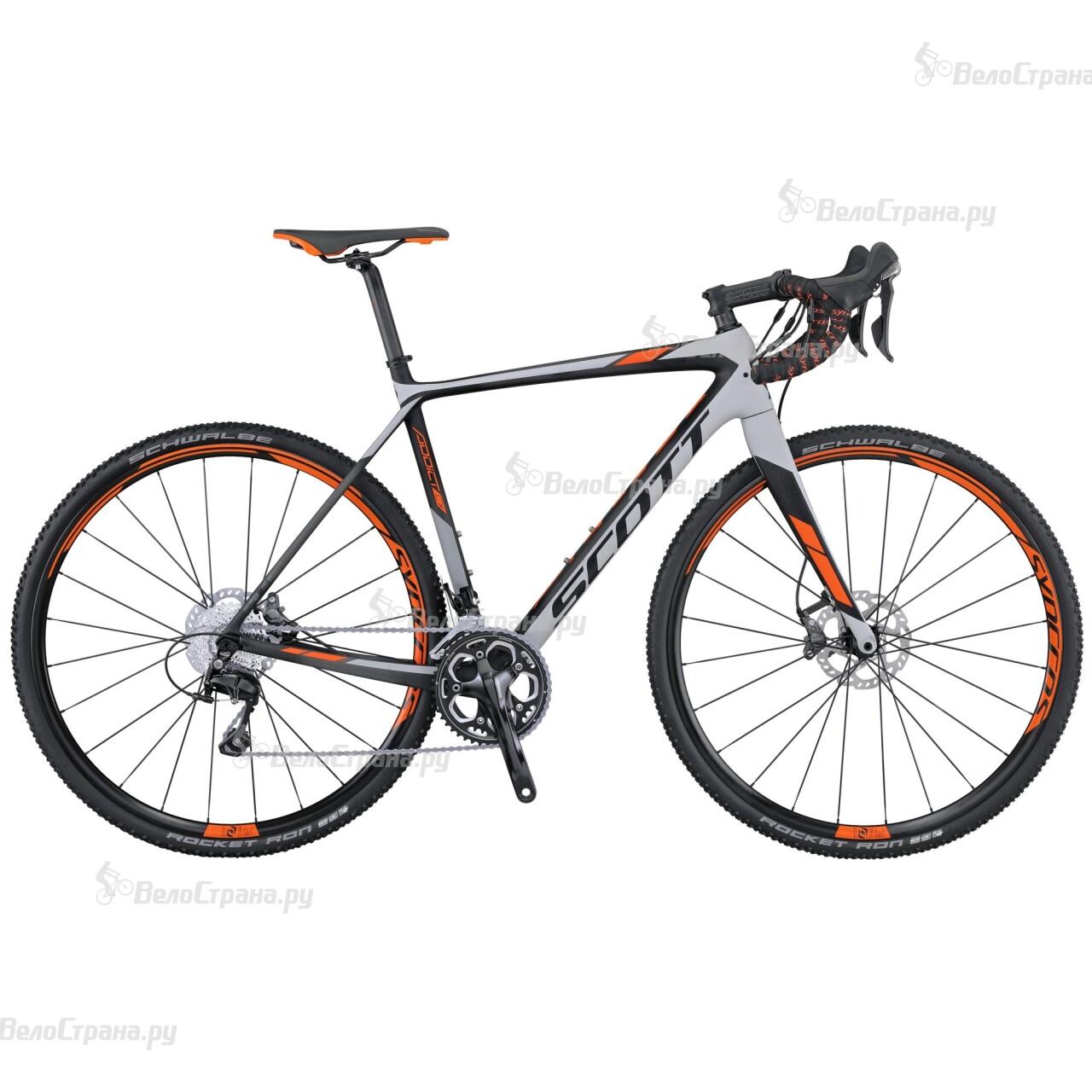 Велосипед Scott Addict CX 20 Disc (2016) scott addict sl compact 2015