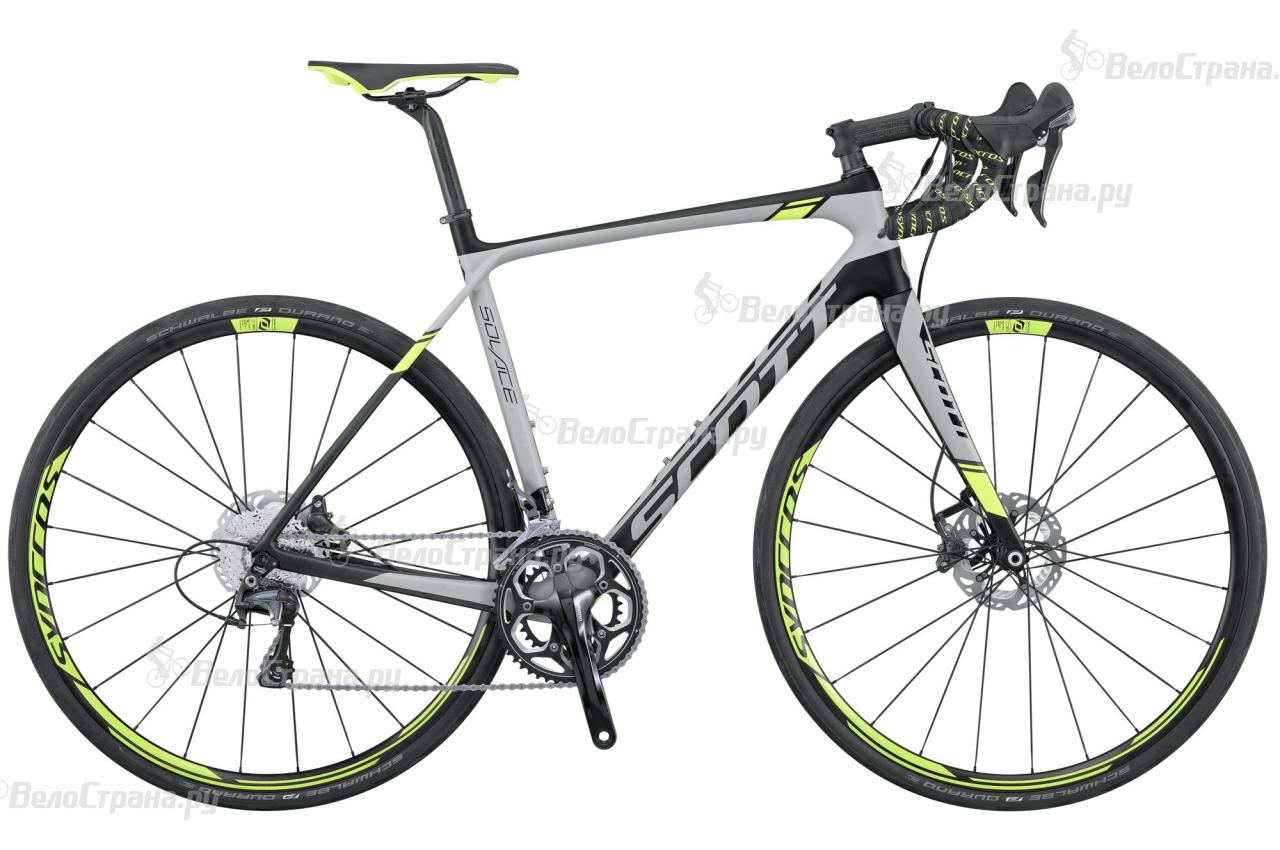 Велосипед Scott Solace 10 Disc (2016) велосипед scott contessa solace 15 compact 2015