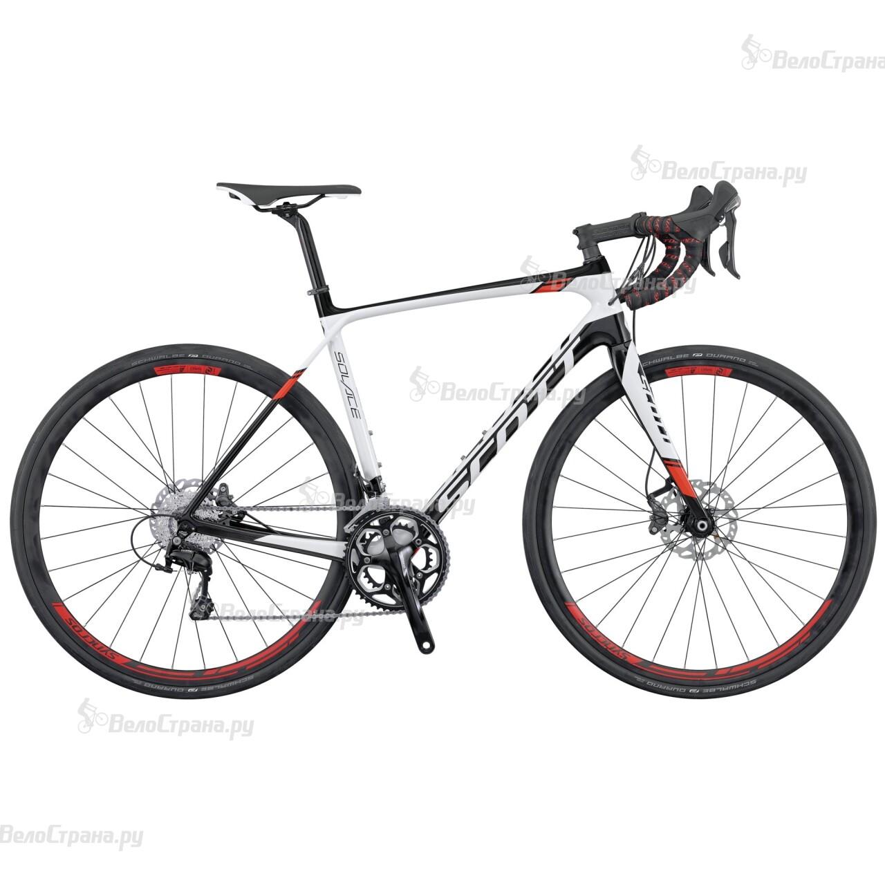 Велосипед Scott Solace 20 Disc (2016) велосипед scott contessa solace 15 compact 2015