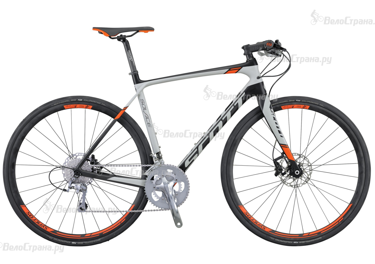 Велосипед Scott Solace 30 FB Disc (2016) велосипед scott solace 30 2015