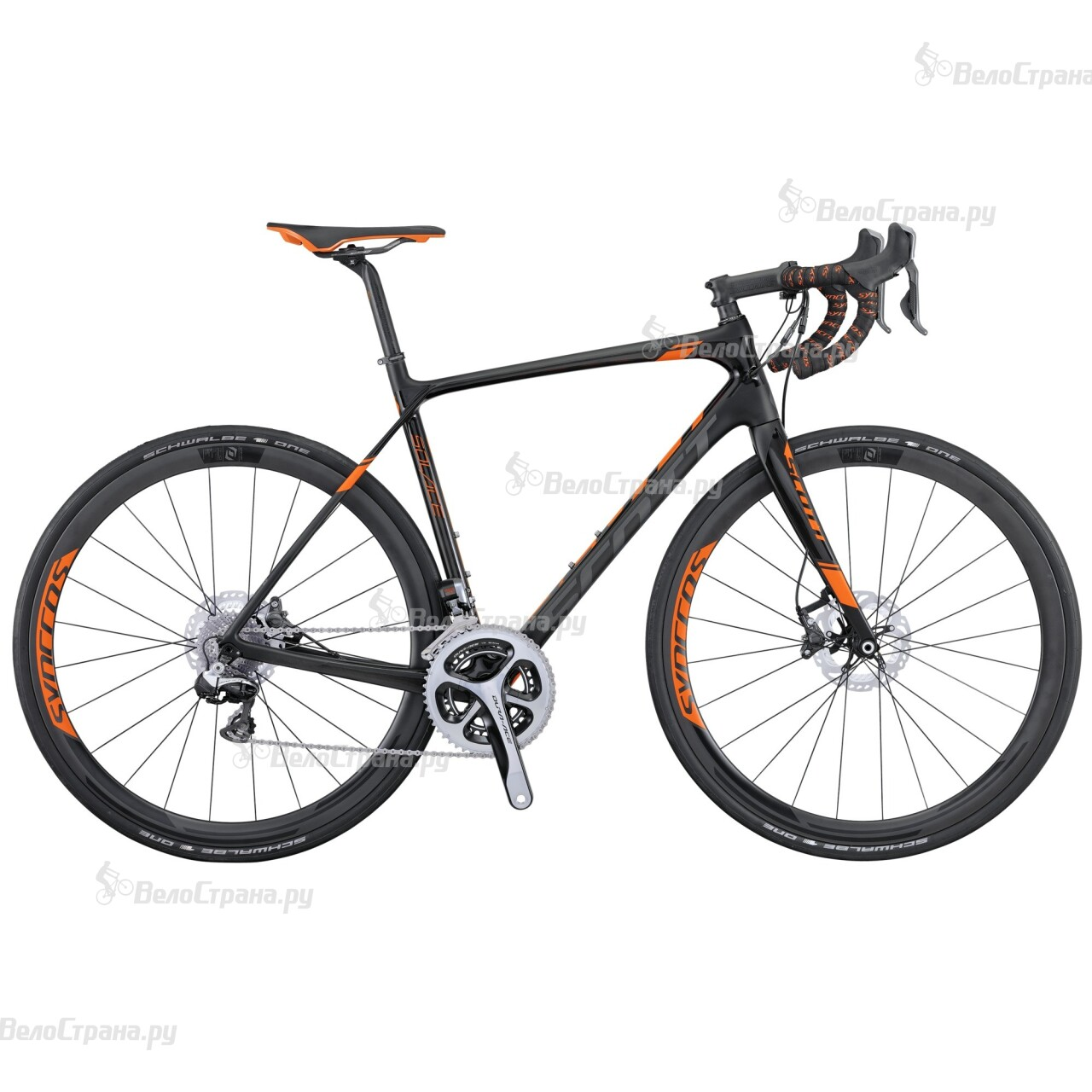 Велосипед Scott Solace Premium Disc (2016) велосипед scott contessa solace 15 disc 2017