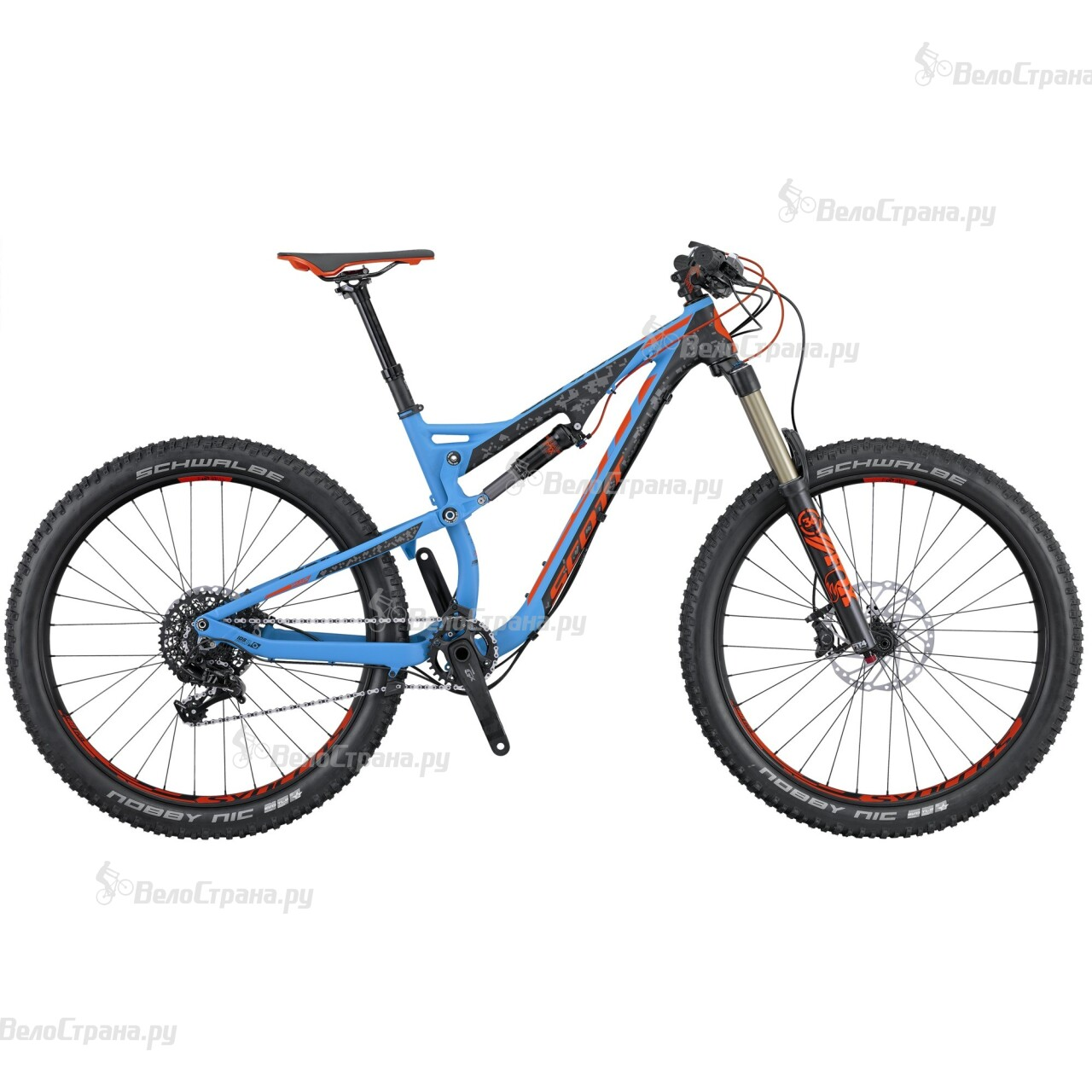 Велосипед Scott Genius LT 720 Plus (2016)