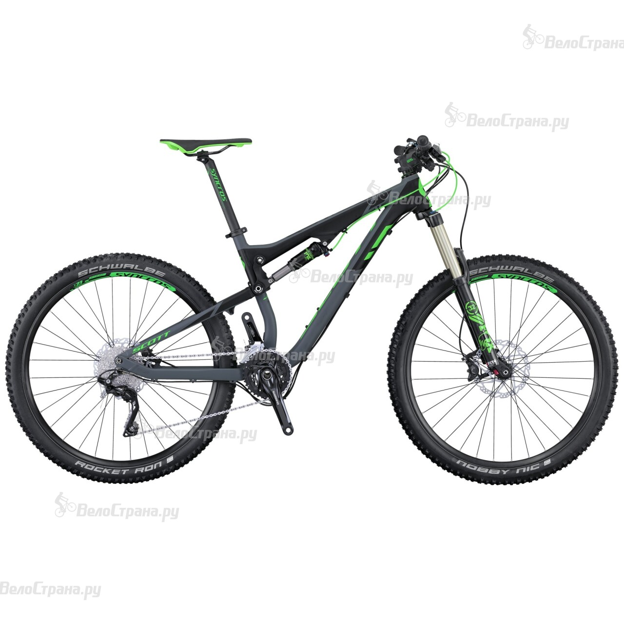 Велосипед Scott Genius 940 (2016)