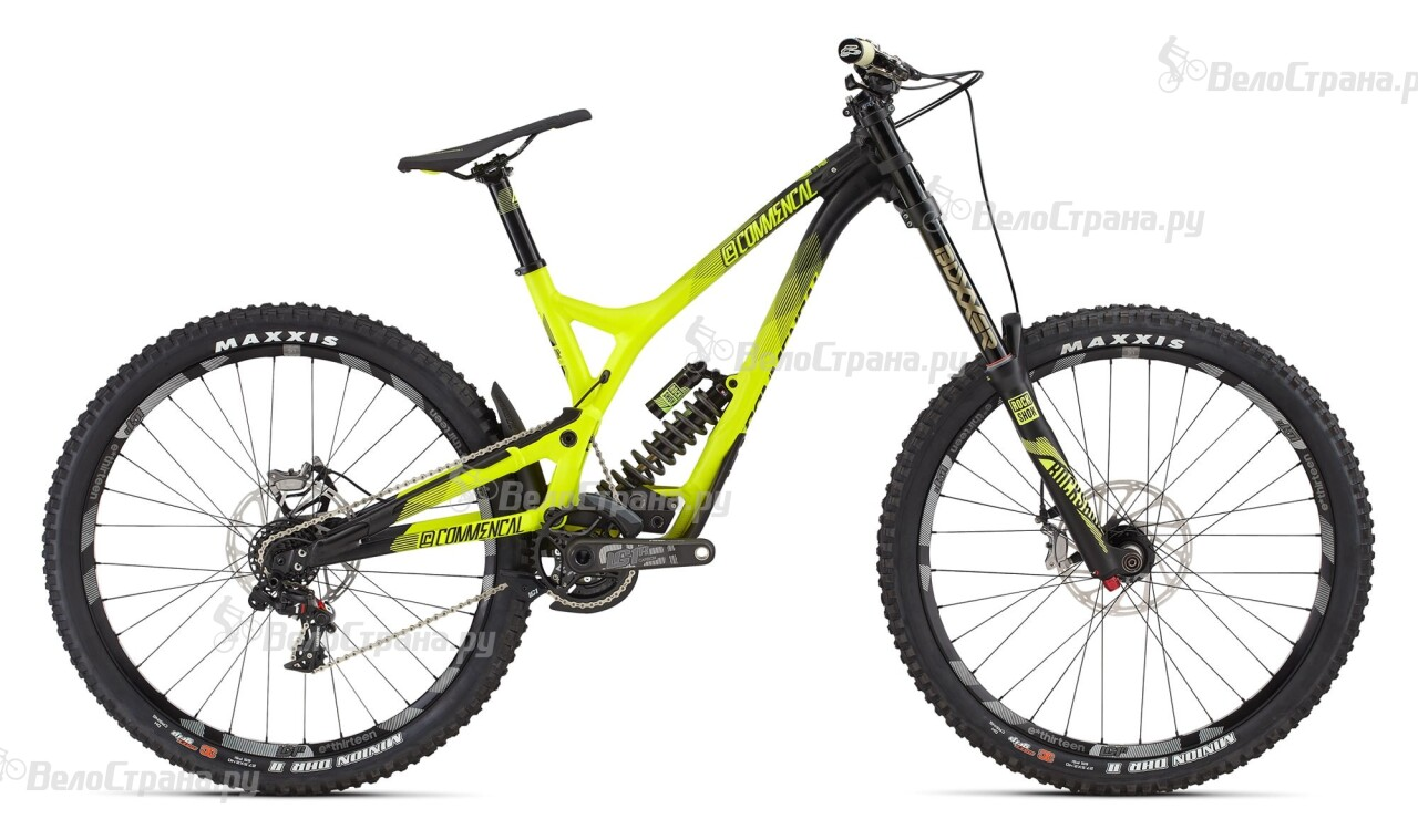 Велосипед Commencal SUPREME DH V4 WORLD CUP 650B (2016) цена 2017