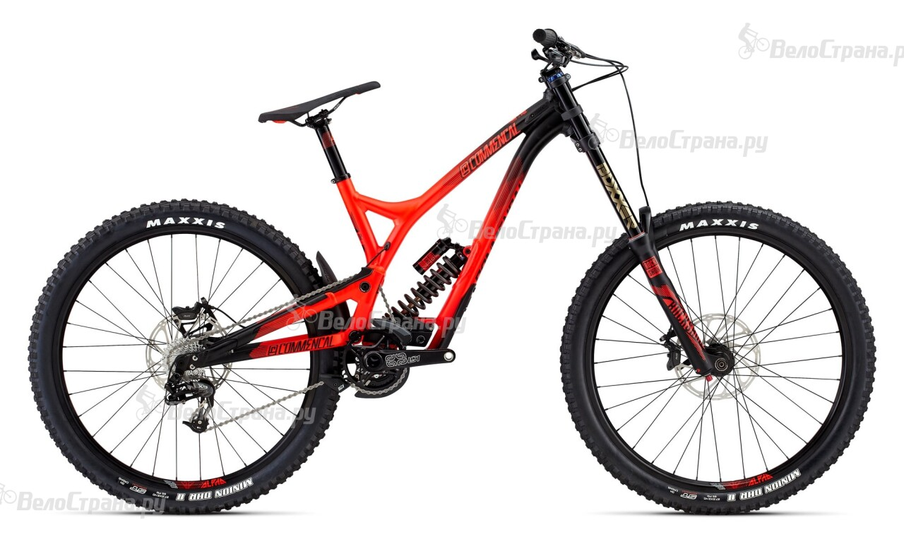 Велосипед Commencal SUPREME DH V4 ESSENTIAL ROCKSHOX 650B (2016) commencal supreme dh wc 2013