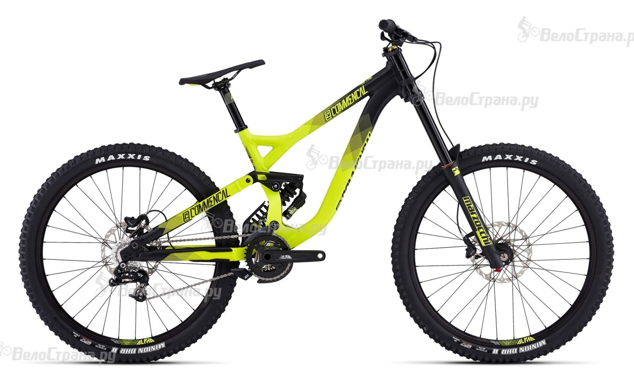 Велосипед Commencal SUPREME DH V3 650B MARZOCCHI (2016) commencal supreme dh wc 2013