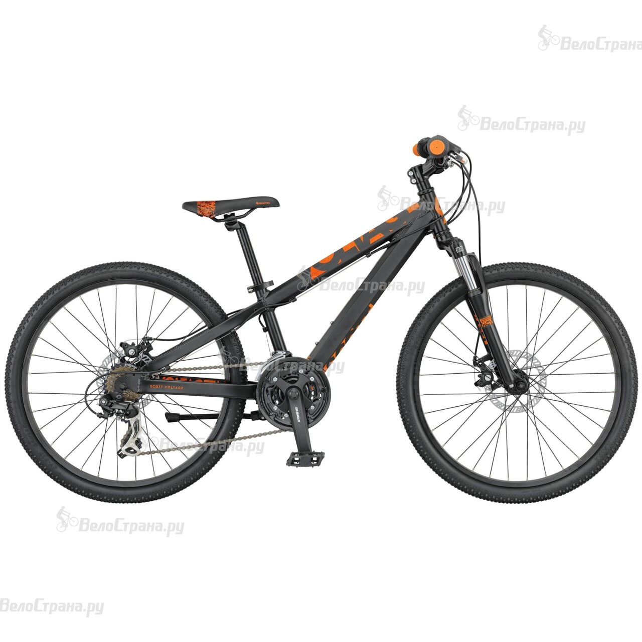 Велосипед Scott Voltage Junior 24 Disc (2016) велосипед scott voltage jr 24 24 2016