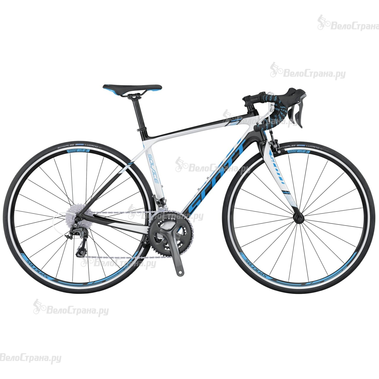 Велосипед Scott Contessa Solace 35 Compact (2016) велосипед scott contessa solace 15 compact 2015