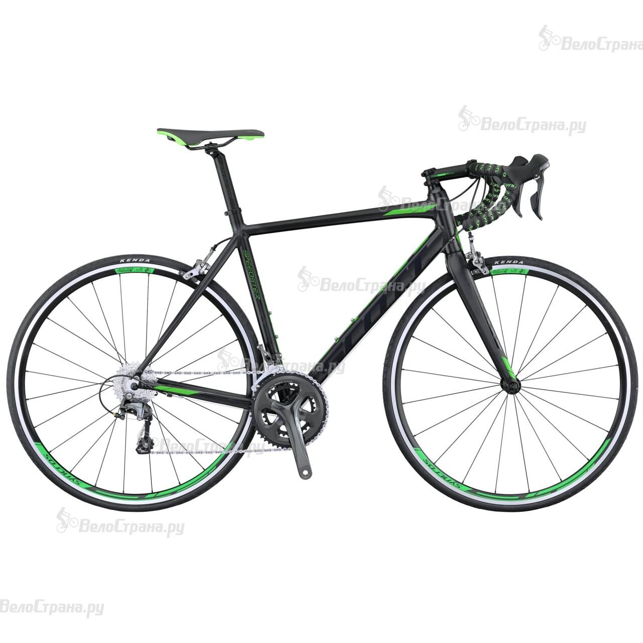 Велосипед Scott Speedster 30 Compact (2016) велосипед scott contessa solace 15 compact 2015