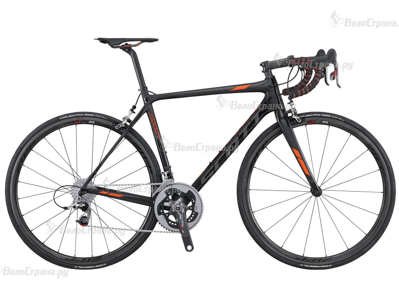 Велосипед Scott Addict SL (2016) scott addict sl compact 2015